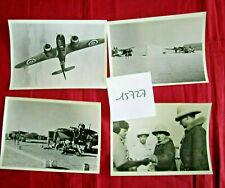 N°15727 / 4 photos argentiques forces françaises libres 1940-42