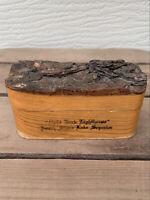 VTG Kitchen Ring Box Split Rock Lighthouse North Shore Lake Superior Souvenir