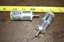 2 New 12v dc small Robot motors - 500rpm Planetary Battlebot Combat Rov USA Ship