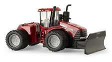 1/64 Case IH Steiger 580 4WD Tractor with Duals & Grouser Push Blade ERTL 14907