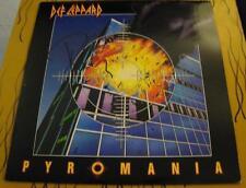 Phil Collen: Def Leppard Pyromania LP Rock Metal Signed Vinyl © 1983 w/COA