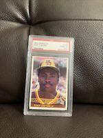 Tony Gwynn 1984 Donruss Psa MINT 9 Padres Hall of fame