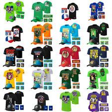 T Shirt Hat cap Wristbands Sweatband boys mens for John Cena WWE cosplay 5PCS