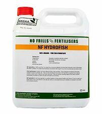 HYDROFISH Organic Certified Fertiliser 4L No Frills Fertilizer Garden Fish