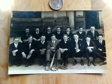Early (1900) Baseball Team In Thier Sunday Best Clothes