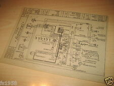 Opel Admiral 3,6 ltr, Vorkrieg, Elektrischer Schaltplan
