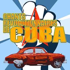 CD Chants révolutionnaires de Cuba