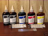 Bulk 500ml refill ink for Brother inkjet printer 4 colors