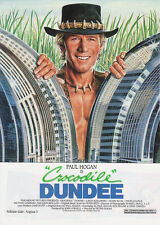 Crocodile Dundee Promotional Movie Ad Paramount Pictures 1986