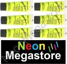 Stargazer 6 X Yellow UV Reactive Neon Body / Face Paint