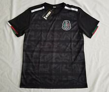 Men's black Mexico national soccer team 2019 Generic soccer jersey