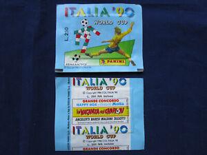 Panini WM World Cup 1990 Italia 90, 1 pack/Tüte/bustina, L. 250, Version Motta