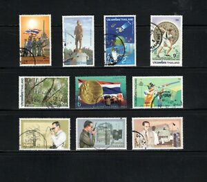 Thailand -- 20 diff used commemoratives from 1996-98 -- cv $8.70 -- 2 scans