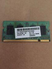 1 x 1GB RAM MEMORY for HP Compaq  Presario C700 & C500 & F500 6515b 6520s Laptop