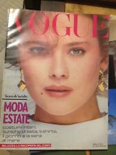 VOGUE ITALIA N°376 1981 MODA ESTATE BIAGIOTTI MODA FASHION VINTAGE STYLE