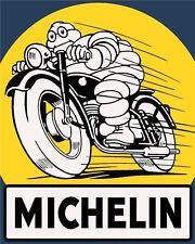 10 x 8 MICHELIN TYRES CAR BIKE MOTORCYCLE GARAGE WORKSHOP METAL PLAQUE SIGN N354