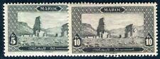 MAROC 1927 Yvert 78-79 * HÖCHSTWERTE 97€(F3733