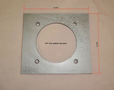 Knife Making - Electric Motor Mounting Plate. Fits C-Face Type Motors (56C etc)