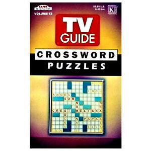 TV Guide Crossword Puzzles Volume 12 (122 Crosswords)