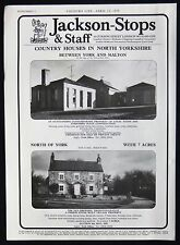 THE OLD BREWERY HOUSE THRORNTON-LE-CLAY VILLAGE NORTH YORKSHIRE ADVERT 1979