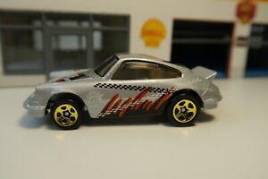 1999 Hot Wheels  X-Treme Speed #967 Porsche Carrera Silver Dirtbike Team 911