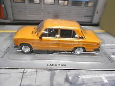 LADA ( Fiat 124 ) 2106 Limousine gelb yellow IXO Altaya Atlas Sonderpreis 1:43