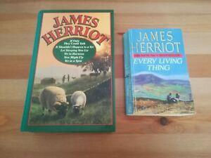 James Herriot 6 Story Rare Hardback Book + Every Living Thing Paperback
