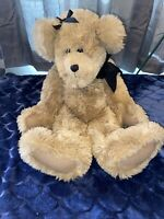 "Sally Winey Bear ""Jointed Mohair 20"" 1284 Tag Handmade Vintage beautiful Signed"