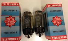 2x  EL156  tubes  TELEFUNKEN  - OO getter  -  STRONG  /  MATCHED  -   EL 156