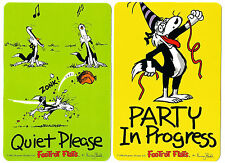 2 NOVELTY BOOKMARKS - CARTOON PARTY - COLLIE - FARMYARD - DOUBLE SIDED