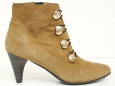 CLARKS ▲ Stiefeletten Gr. 39 (6) Echtleder Veloursleder Beige Schuhe Shoes