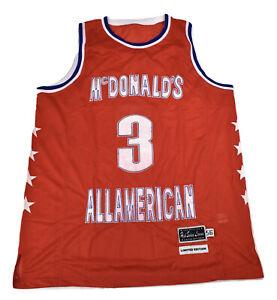 Mens McDonalds High School All-American Sewn Basketball Jersey Pick Size & Style