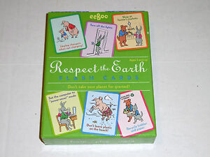 Respect The Earth Flash Cards Eco Friendly Teaches Environmental Awareness eeBoo