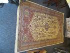Beige Wool Antique Oriental Carpet
