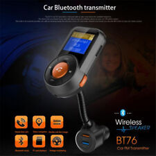 Wireless In-Car NEW FM Transmitter MP3 Radio Quick Charge 3.0 USB Charger