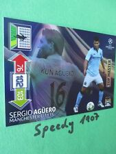 Champions LEAGUE AGUERO 2012 13 Top Master Topmaster Panini Adrenalyn 12 13