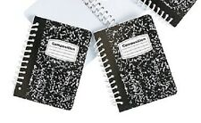 "2 Mini Composition Note Book for 18"" American Girl & Kidz n Cats Doll School Sup"
