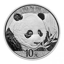 2018 China Chinese Panda  30 g .999 Silver Coin in Capsule BU