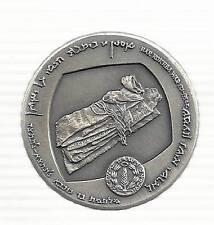 ISRAEL 1965 BAR-KOCHBA STATE MEDAL 35mm 30g STERLING (935) SILVER