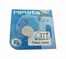 Silver 1.5 V watch battery Renata 377 (Sr 626 Sw)