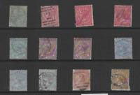 BERMUDA 1883-1904 QV  SET  OF 1  (SG  21-29b)  FINE USED