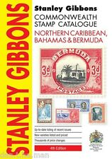 Stanley GIBBONS COMMONWEALTH Catálogo De Sellos-norte del Caribe Bahamas 4th Ed