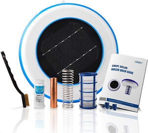 Solar Pool Lonizer Pool Cleaning Device Purifies Pool Water Algae Killer