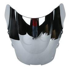 Chrome Double Bubble Windshield Windscreen For Honda CBR1100XX CBR 1100 XX 96-07
