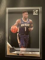 2019-20 Clearly Donruss Zion Williamson 51 Rated Rookie acetate card