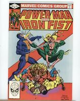Marvel Comics - Power Man And Iron Fist #84 - 1982 - VF- to VF 4th Sabretooth