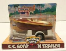 The Chevron Cars C.C. BOAT 'N TRAILER Vintage Retired 1999