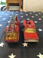 **PLAYED WITH CONDITION** Dinky & Matchbox Fire Bundle