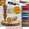 Custom Made Yr Design Brand Logo Wedding Invitations Card Wax Seal Stamp + 1 Wax