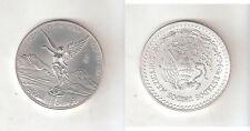 129001) MESSICO MEXICO UN ONCIA FDC DEL 19996 ARGENTO 999/1000